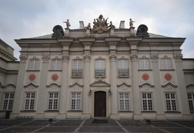 Warszawa, Pałac pod Blachą