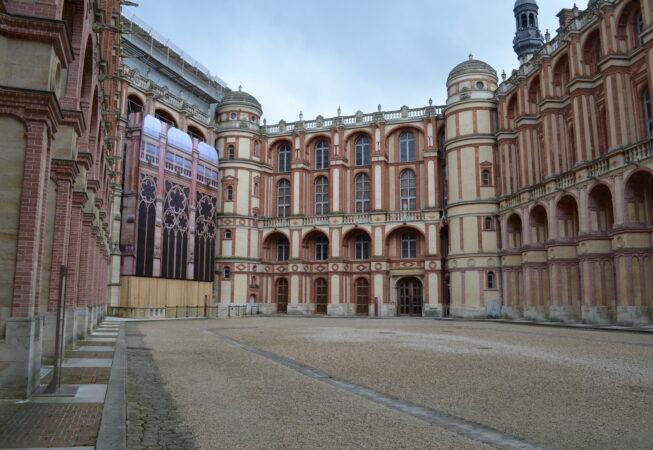 Zamek  Saint Germain en Lay/ Chateau Saint Germain en Lay  fot.  Emilia Szutenbach