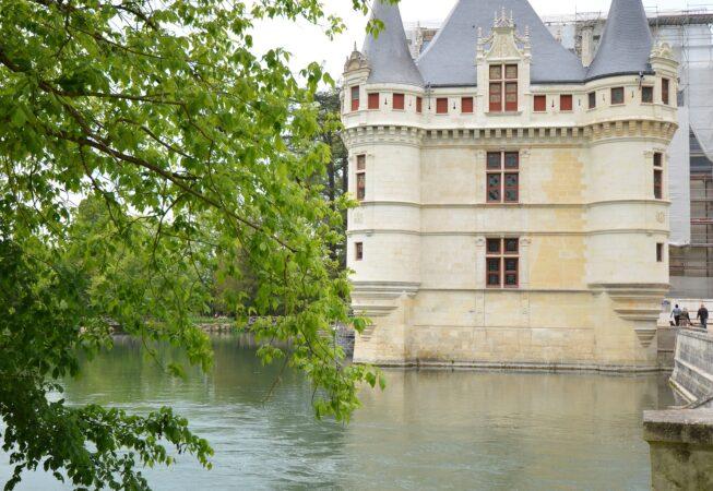 Zamek  Azay le Rideau . Chateau Azay le Rideau . Fot. Emilia Szutenbach