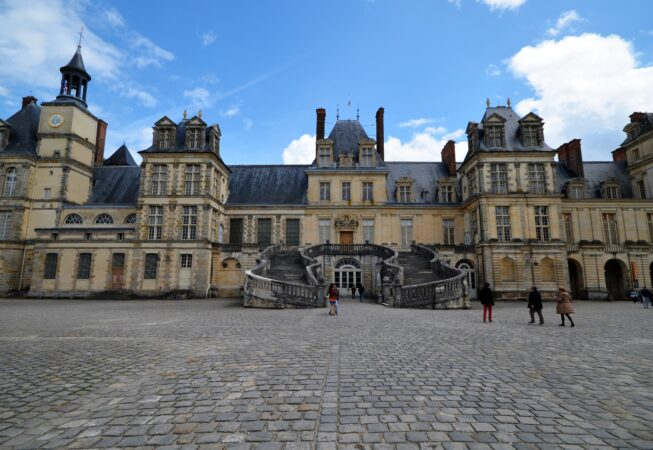 Zamek  Fontainebleau/ Chateau Fontainebleau  fot. Emilia Szutenbach