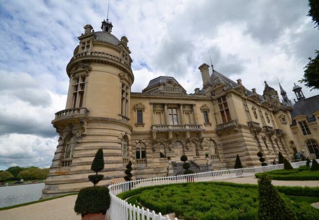 Zamek Chantilly/ Chateau Chantilly fot. Emilia Szutenbach