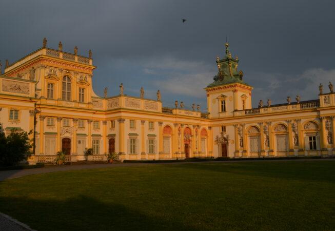 Warszawa, Pałac w Wilanowie fot. Emilia Szutenbach