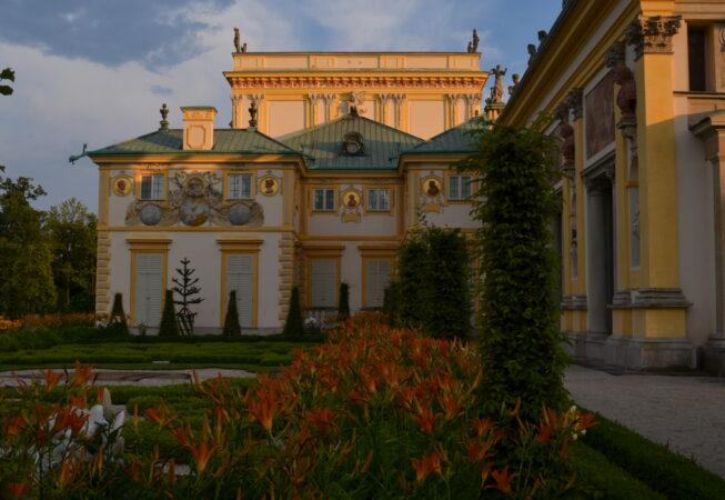 Warszawa, Pałac w Wilanowie, fot. Emilia Szutenbach