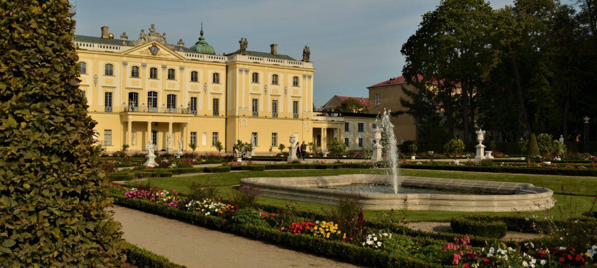 Pałac Branickich  w Białymstoku –  Wersal Podlasia