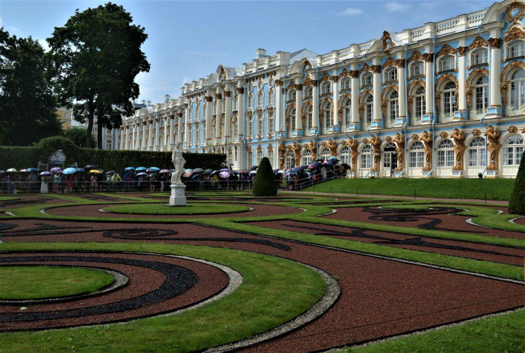Carskie Sioło, Pałac Jekateryński . Fot. Emilia Szutenbach