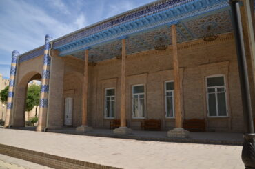 Pałac  Nurullabaja,  Chiwa Uzbekistan