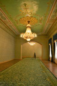 Pałac Nurullabaja, Chiwa, Uzbekistan fot. Emilia Szutenbach