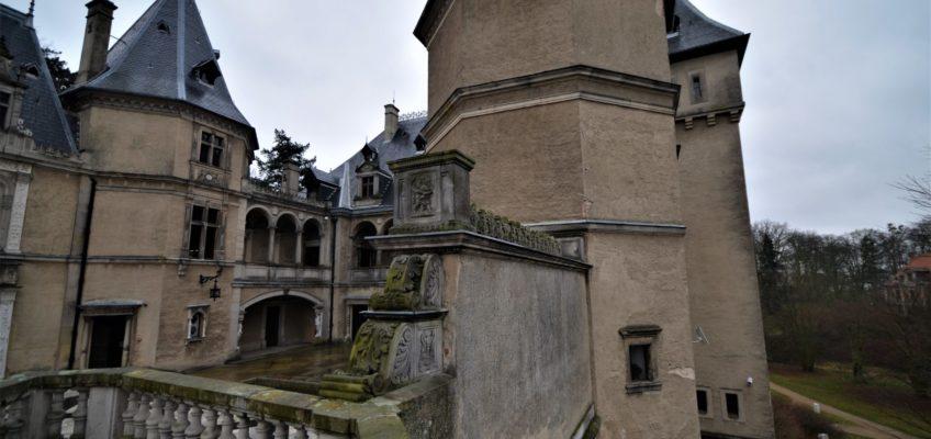 Zamek w Gołuchowie fot. Emilia Szutenbach
