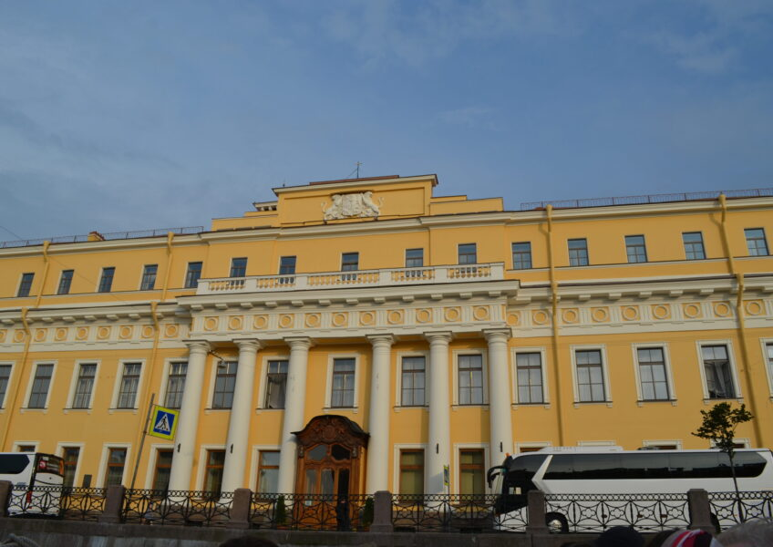 Pałac Jusupowych Petersburg fot. Emilia Szutenbach